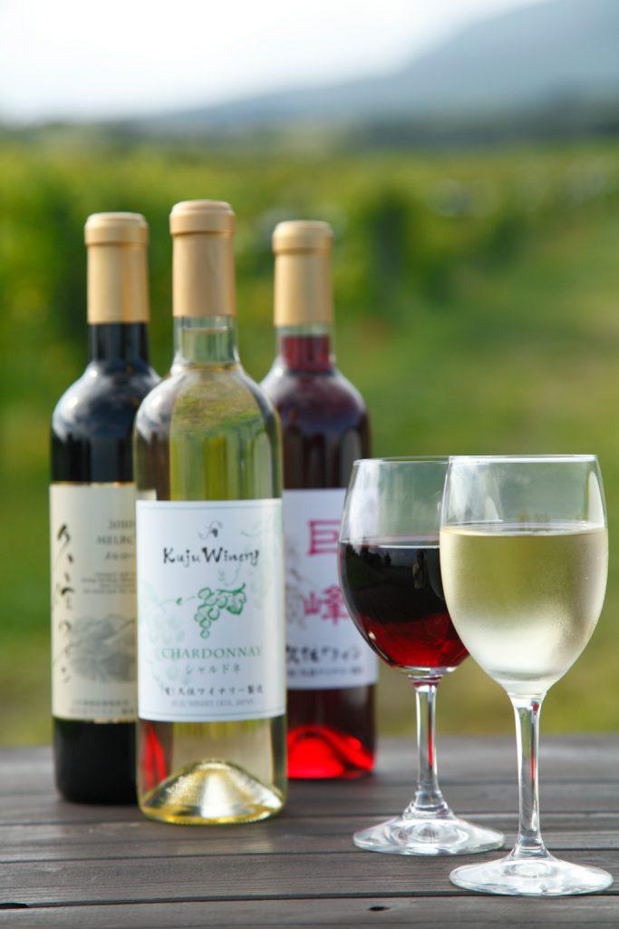 久住ワイナリーのワインの写真
