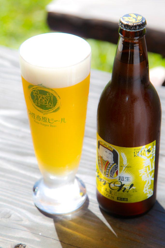 久住高原地ビール村のビール