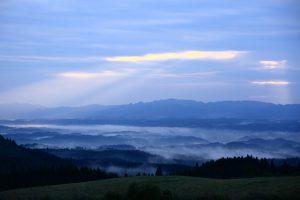 久住高原の雲海