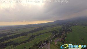 2016年6月の久住高原 ドローン空撮4K写真4000 × 2250