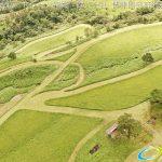 絶景の久住高原 ドローンで空撮4K写真 20160714 vol.6を公開Aerial in drone the Kuju kogen /Kuju Plateau. 4K Photography