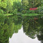 納池公園の庭園