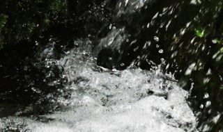 老野湧水(おいのゆうすい) 場所:九州の大分県竹田市久住町大字栢木
