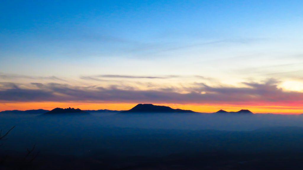 牧ノ戸峠からの阿蘇の雲海