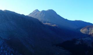 くじゅう連山 大船・黒岳登山口 ドローン空撮 20170215 Drone video in Kuju mountain range