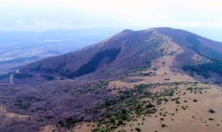 久住山 九重山 九重連山 猟師山 標高1423.4m 九重 森林 スキー場 登山