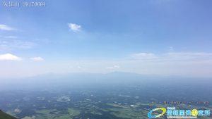 久住山山頂から臨む くじゅう高原
