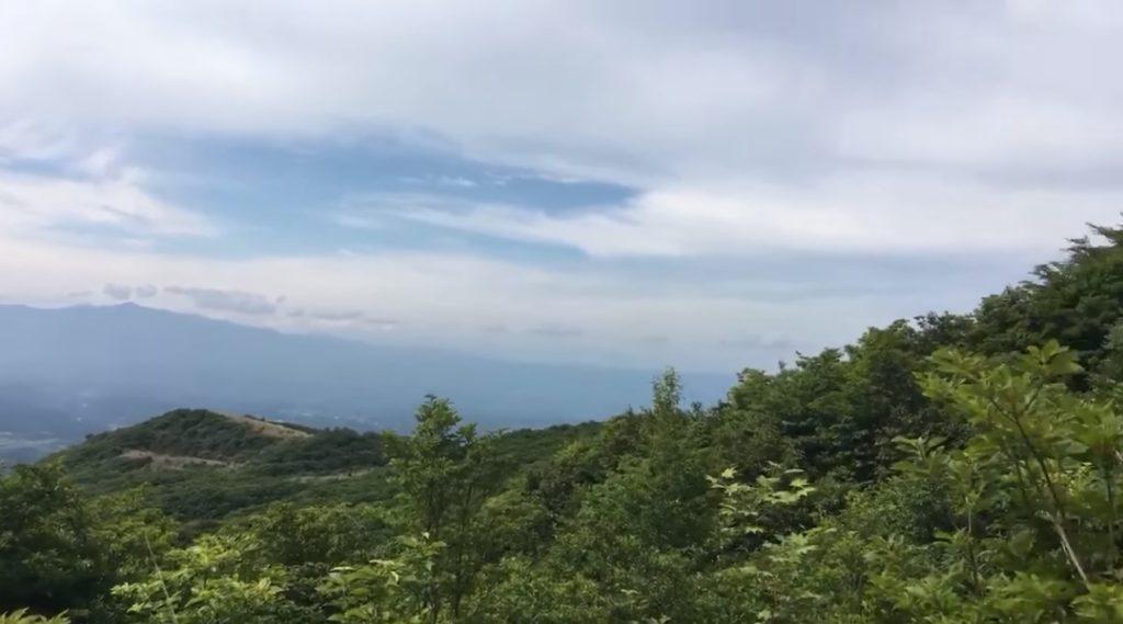 ライブ配信 くじゅう山開き 大船山 登山道