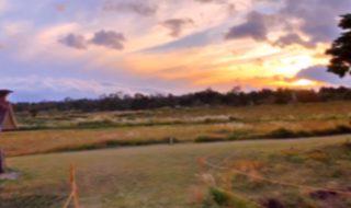 秋のくじゅう散策 夕焼け Walk in autumn's Kuju plateau 軽快なフィルム風バージョン 紅葉の阿蘇くじゅう国立公園 くじゅう高原 九重連山 日本一のマラソン練習コース